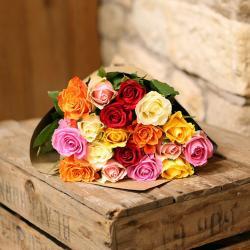 Multi Roses Bouquet