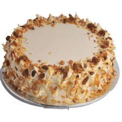 One Kg Butterscotch Cake