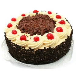 One Kg Designer Cherry Black Forest Cake