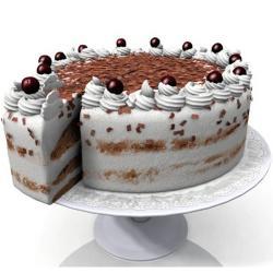 One Kg Vanilla Chocolate Cake