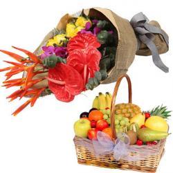 Pampering Fruit Basket