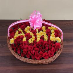 Personalized Four Letter Name Roses Arrangement