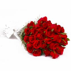 Romance in The Air with Red Roses