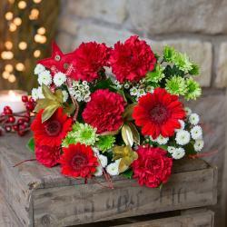 Romantic Red Flowers