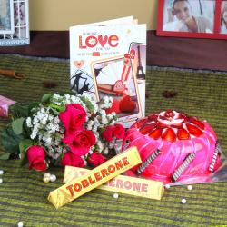 Romantic Valentine Gift Combo