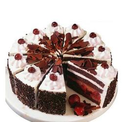 Round Shape Black Forest Cake