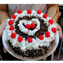 Small Black Forest Cherry Cake