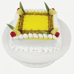 Square Pineapple Cake