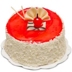 Strawberry Jelly Cake