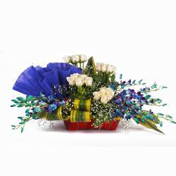 Stylish Floral Basket