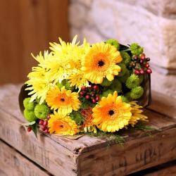 Sunshine Gerberas Bouquet