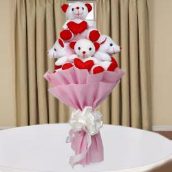 Teddy Bouquet Same Day Delivery