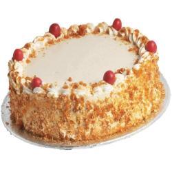 Tempting Butterscotch Caramel Cake