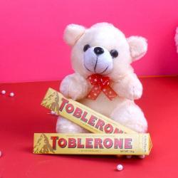 Toblerone Chocolate with Cuddly Teddy Bear