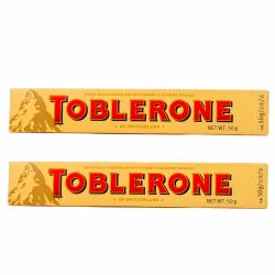 Toblerone Swiss Chocolate Bars