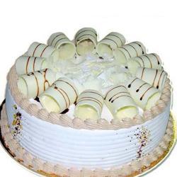 Vanilla Decorated Cake