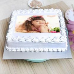 Vanilla Personalized Cake
