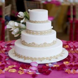 Wedding Vanilla Cake