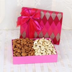 Almond and Cashew Box for Kasargode