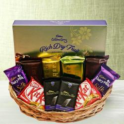 Assorted Indian Chocolates Hamper Online For Pune