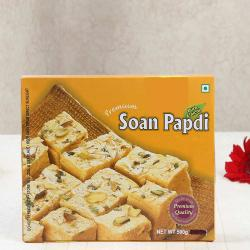 Box of Soan Papdi Sweets