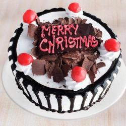 Christmas Vanilla Cake