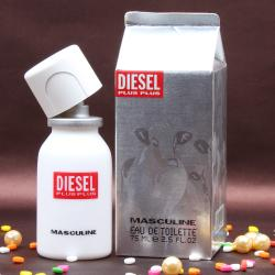 Diesel Plus Masculine Perfume For Him With Complimentary Love Card Bhuj