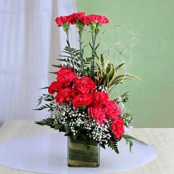 Exotic Pink Carnation Arrangement