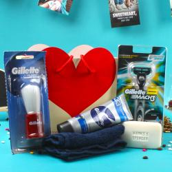 Gillette Shaving Gift Bag For Him Kannur