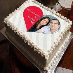 My Better Half Photo Cake