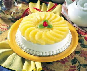 Pineapple Cake for Surendranagar