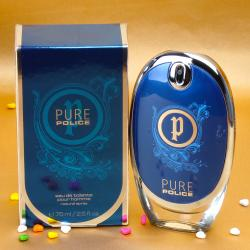 Police Pure Perfume For Him With Complimentary Love Card Amritsar