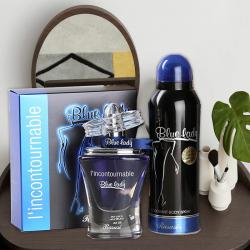 Rasasi Blue Lady Gift Set for Women for Bulandshahr