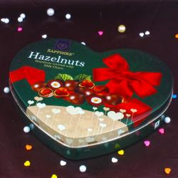 Sapphier Hazelnuts Milk Chocolates for New Delhi