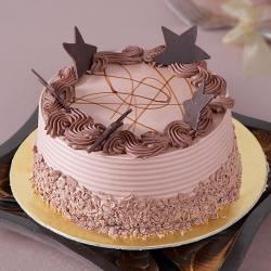 Star Chocolate Cake For Vijayawada