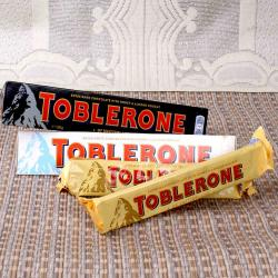 Toblerone Treat for Darjeeling