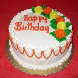 Vanilla Birthday Cake For Chennai