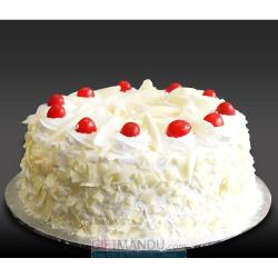 White Chocolate Cake for Kolkata