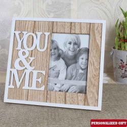 YOU and ME Personalized Photo Frame for Hardwar